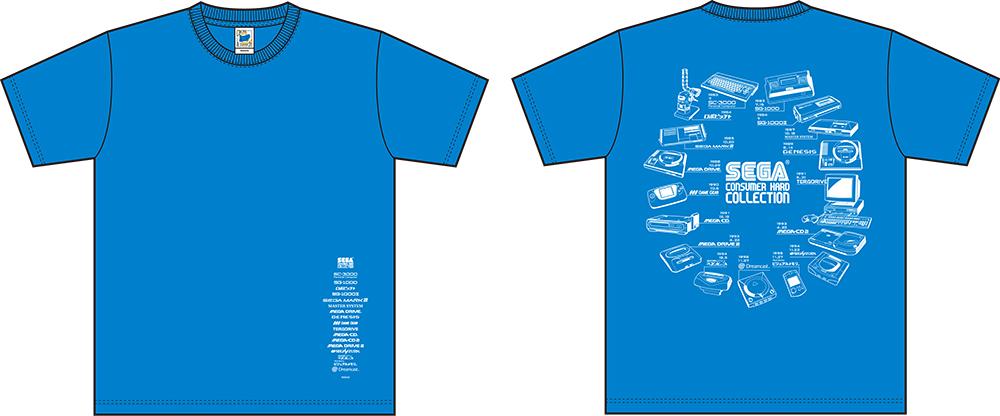 「セガハードコレクション」Tシャツ2015