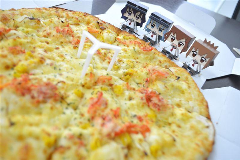 ▲「美味しそうなピザなのです。」