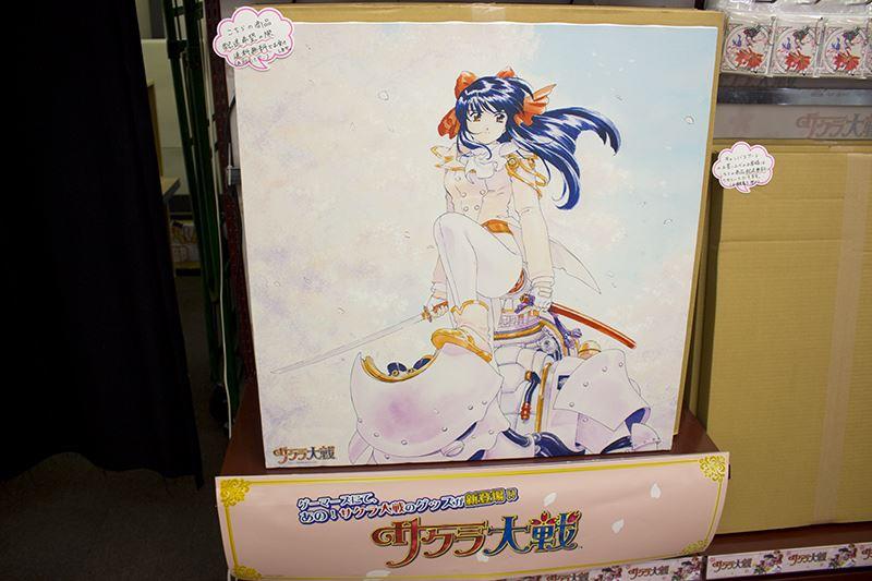▲新グッズのキャンバスアート(税別18,000円)。