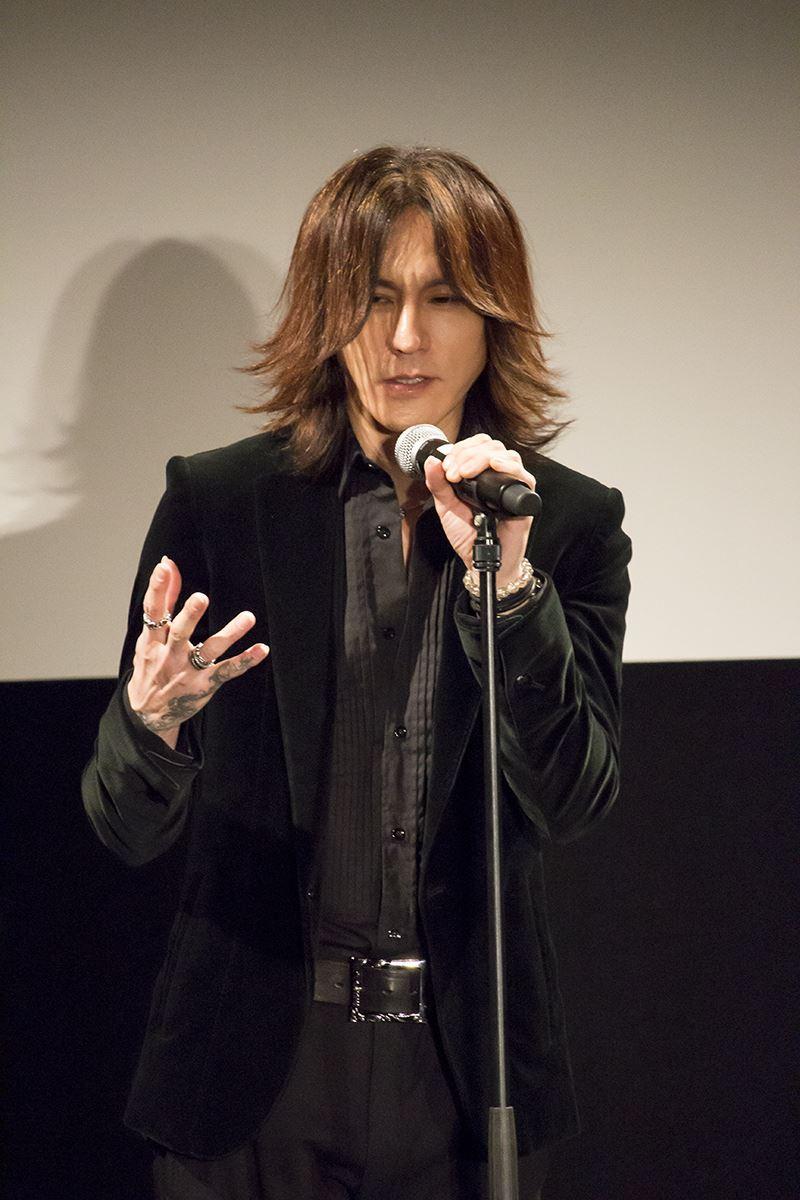 ▲LUNA SEA、X JAPANのSUGIZO氏もゲストプレゼンターとして登壇。