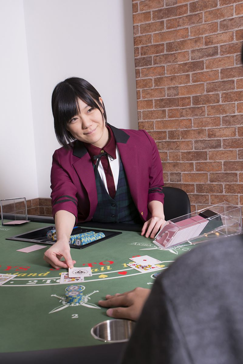 ▲ゲームにもよるが、1テーブルにつき6~7人程同時に遊ぶことができる。