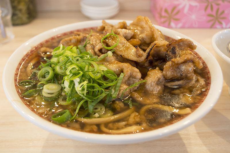▲さっそく注文してみた『肉汁麺レベル3(300g 1080円[税込])』。