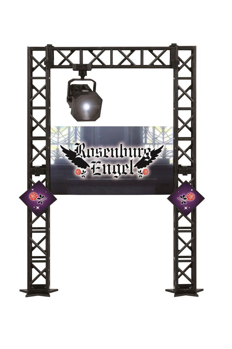 【特製ステージ】ライトユニット・トラス柱・背面ボード・装飾パネル。※電池は別売です。