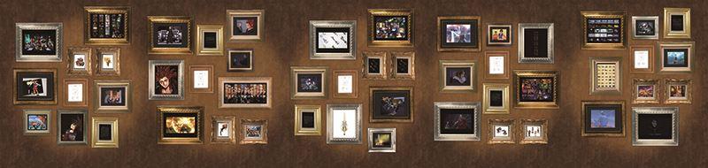 キングダムハーツ 15周年メモリアルステンドグラスクロック展示 (30)