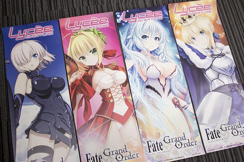 ▲くじの当たりには販促ポスターがプレゼントされる。8種類のなかから2種ランダムで渡される。