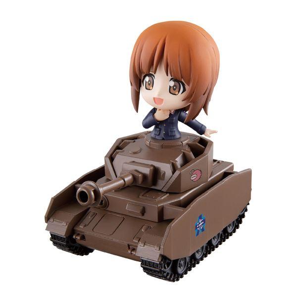 ▲A~I賞は、戦車にキャラクターを乗せて飾ることも可能。