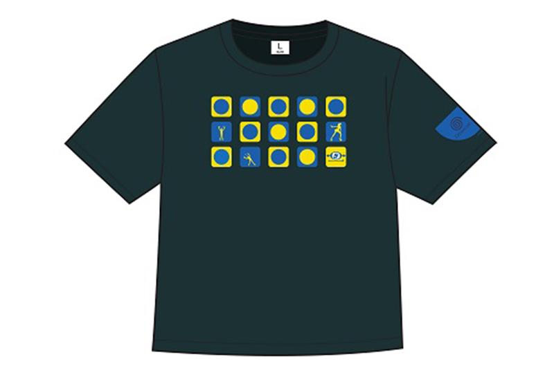スペースチャンネル5 Tシャツグリーン