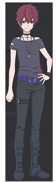 ▲岡 絵里(CV:相坂優歌) ケイの中学時代の後輩。赤いカラーコンタクトが特徴で、それに付随する能力を持っている。ケイに対し、憎しみと尊敬が入り混じった複雑な感情を抱いている。