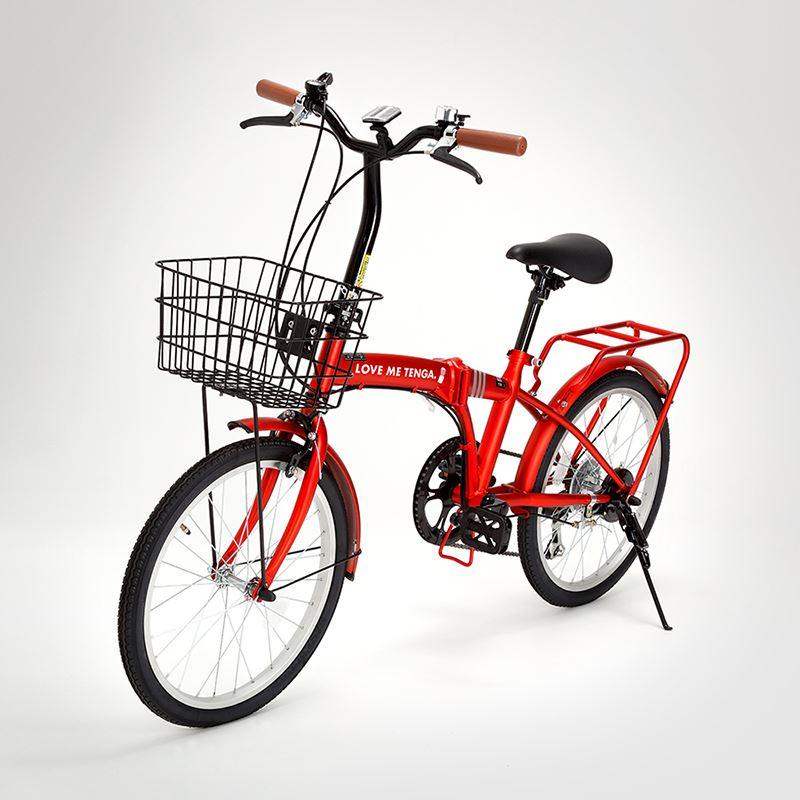 ▲【A賞】TENGA特製ロゴ入り折りたたみ自転車(10名様)