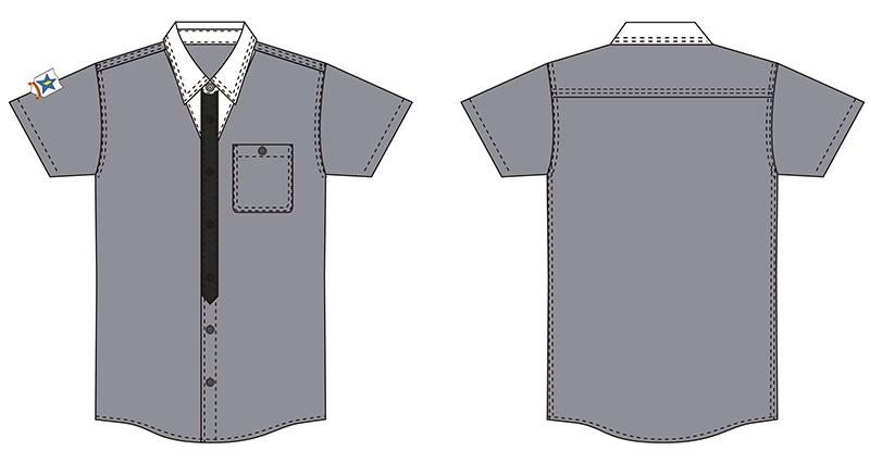 ▲サンダース制服。