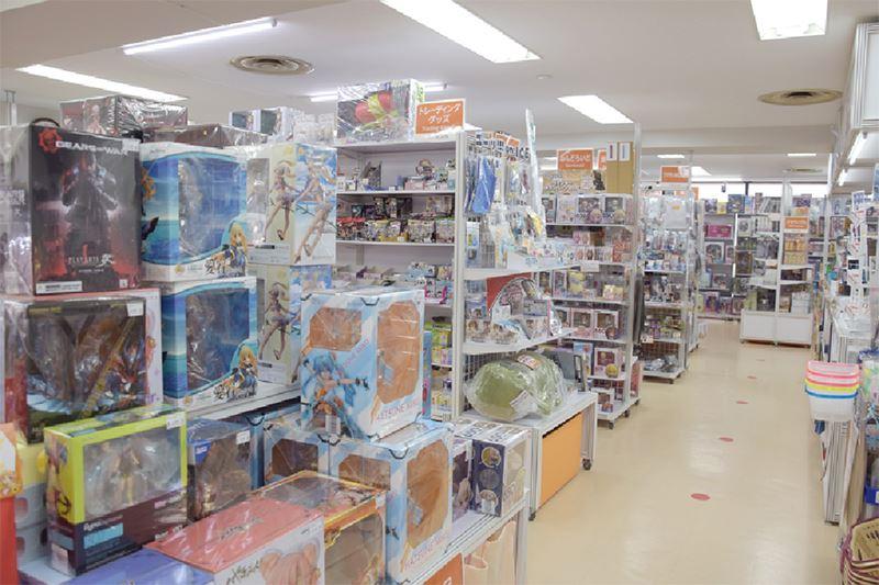 ▲店舗イメージ。新作・中古フィギュアやアニメグッズなどを取扱予定。