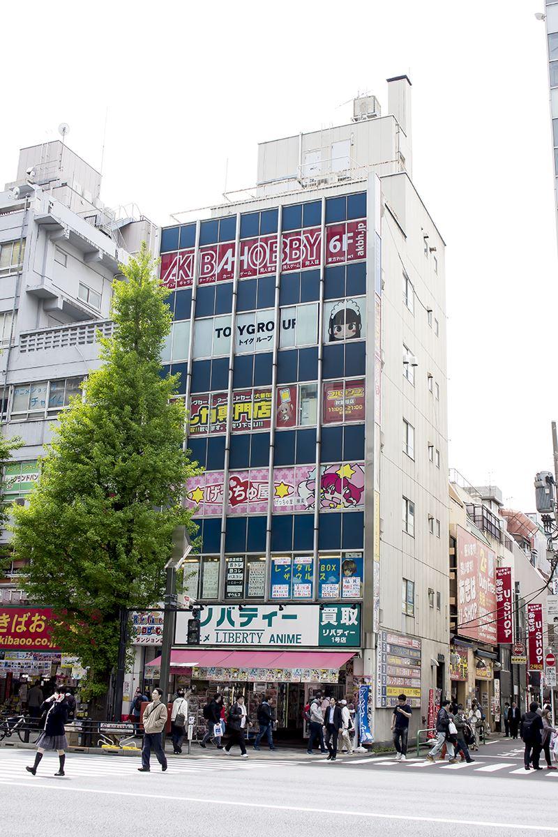 ▲移転先は中央通り沿いの恵光ビルの6階。