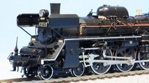 1位はC57型117号。お召し列車に使用された。別名は貴婦人(写真モデル=天賞堂)
